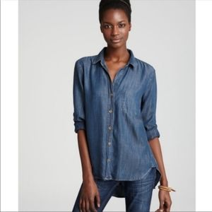 Bella Dahl | denim button down | xs
